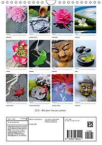 ZEN - Mit dem Herzen sehen (Wandkalender 2019 DIN A4 hoch) - Produktdetailbild 13