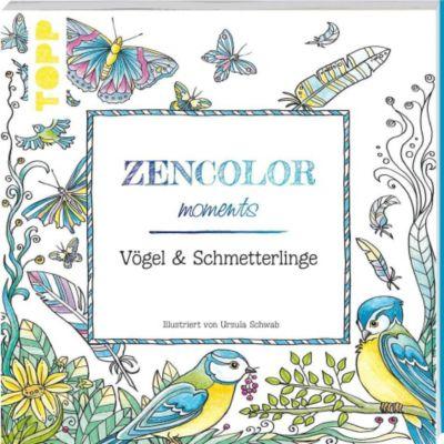 Zencolor moments Vögel & Schmetterlinge, Ursula Schwab
