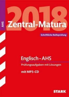 Zentral-Matura 2018 Österreich - Englisch - AHS, m. MP3-CD