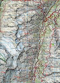 Zermatt Wanderkarte Nr. 9, 1:50 000 - Produktdetailbild 1