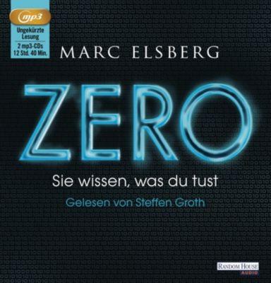 ZERO - Sie wissen, was du tust, 2 MP3-CDs, Marc Elsberg