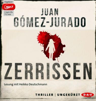 Zerrissen, 2 Mp3-CDs, Juan Gómez-Jurado