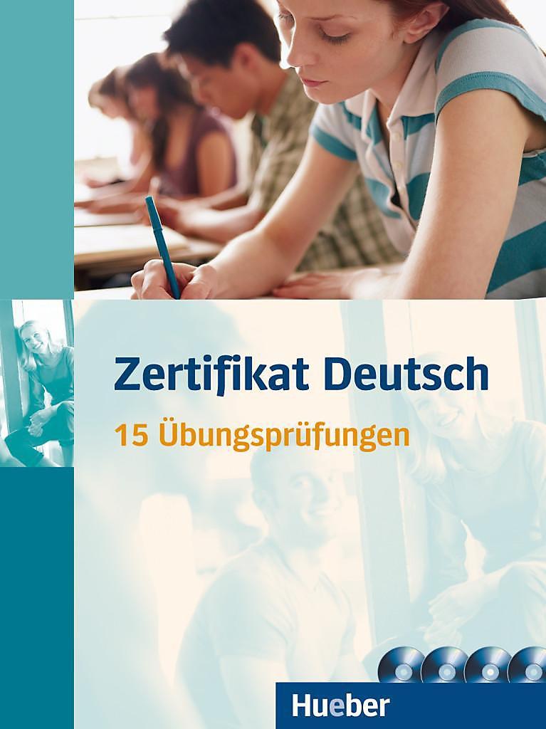 Zertifikat Deutsch 15 übungsprüfungen U 4 Audio Cds Buch
