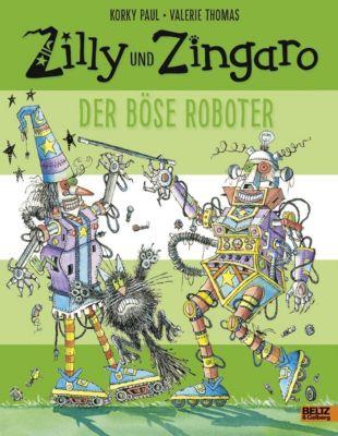 Zilly und Zingaro - Der böse Roboter, Korky Paul, Valerie Thomas