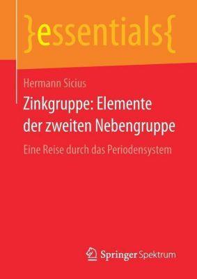 Zinkgruppe: Elemente der zweiten Nebengruppe, Hermann Sicius