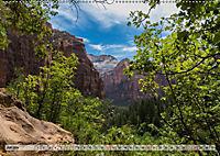 Zion Nationalpark (Wandkalender 2019 DIN A2 quer) - Produktdetailbild 9