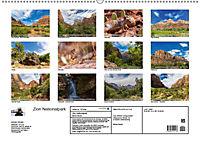 Zion Nationalpark (Wandkalender 2019 DIN A2 quer) - Produktdetailbild 13
