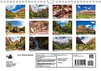 Zion Nationalpark (Wandkalender 2019 DIN A4 quer) - Produktdetailbild 13