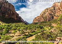 Zion Nationalpark (Wandkalender 2019 DIN A4 quer) - Produktdetailbild 12
