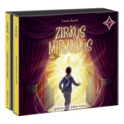 Zirkus Mirandus, 4 Audio-CDs, Cassie Beasley