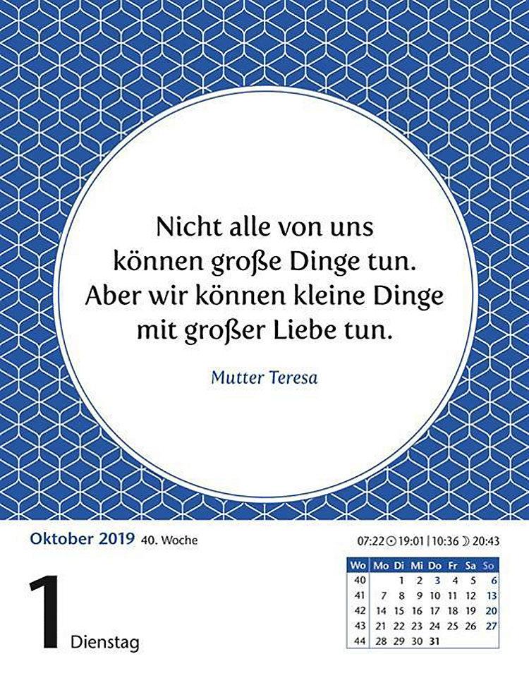 Zitate 2019 Kalender Jetzt Günstig Bei Weltbild De Bestellen