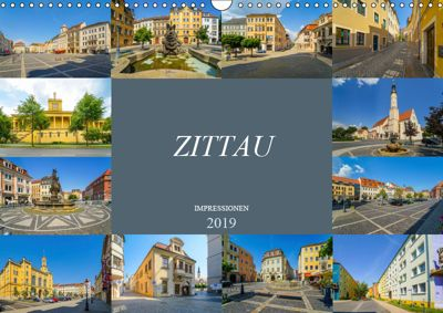 Zittau Impressionen (Wandkalender 2019 DIN A3 quer), Dirk Meutzner