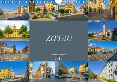 Zittau Impressionen (Wandkalender 2019 DIN A4 quer), Dirk Meutzner