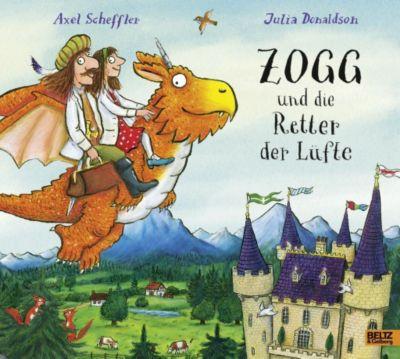 Zogg und die Retter der Lüfte, Axel Scheffler, Julia Donaldson
