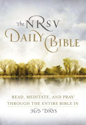 Zondervan: NRSV, The Daily Bible, eBook, Zondervan