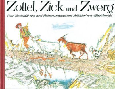 Zottel, Zick und Zwerg, Alois Carigiet