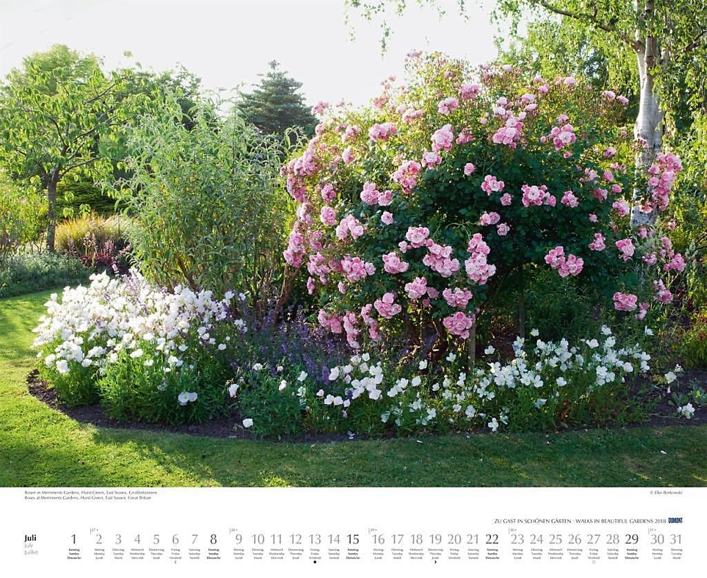 Zu Gast In Schönen Gärten 2018 Kalender Bei Weltbildde Kaufen