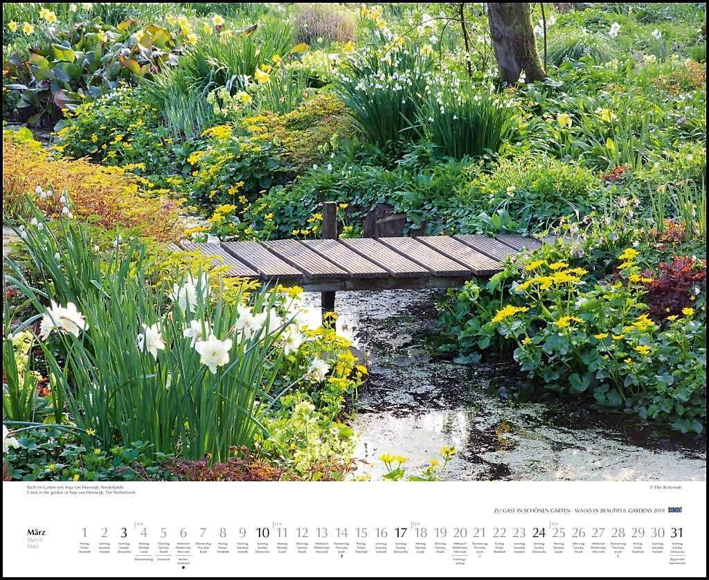Zu Gast In Schönen Gärten 2019 Kalender Bei Weltbildch Kaufen