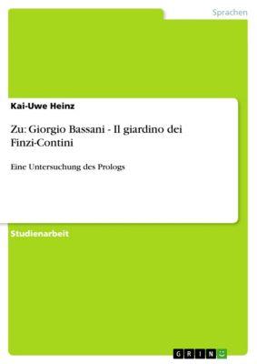 Zu: Giorgio Bassani - Il giardino dei Finzi-Contini, Kai-Uwe Heinz