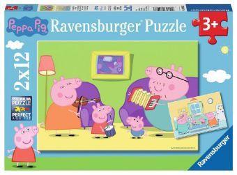 Zuhause bei Peppa / Peppa Pig (Kinderpuzzle)