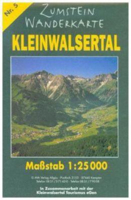 Zumstein Wanderkarte Kleinwalsertal -  pdf epub