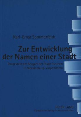 Zur Entwicklung der Namen einer Stadt, Karl-Ernst Sommerfeldt