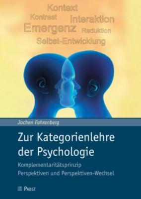 Zur Kategorienlehre der Psychologie, Jochen Fahrenberg