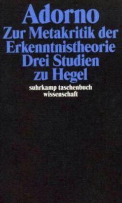 Zur Metakritik der Erkenntnistheorie, Theodor W. Adorno