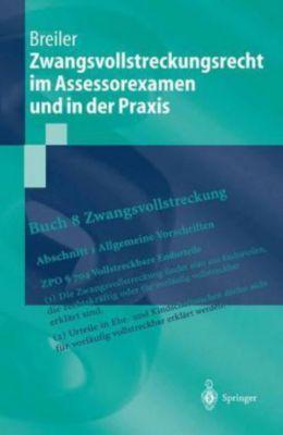 Zwangsvollstreckungsrecht im Assessorexamen und in der Praxis, Jürgen Breiler