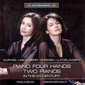 Zwei Klaviere,Vier Hände Im 20.Jahrhundert, Paola Biondi
