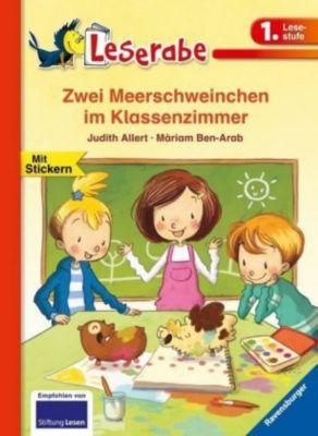 Zwei Meerschweinchen im Klassenzimmer, Judith Allert