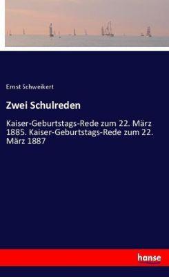 Zwei Schulreden, Ernst Schweikert