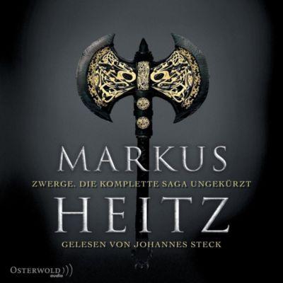 Zwerge. Die komplette Saga ungekürzt, 19 MP3-CDs - Markus Heitz |