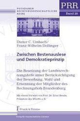 Zwischen Bestenauslese und Demokratieprinzip, Dieter C. Umbach, Franz-Wilhelm Dollinger