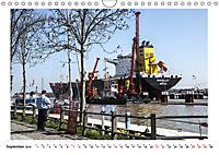 Zwischen Hochdonn & Brunsbüttel: Pötte gucken am Kanal (Wandkalender 2019 DIN A4 quer) - Produktdetailbild 9