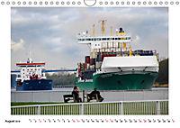 Zwischen Hochdonn & Brunsbüttel: Pötte gucken am Kanal (Wandkalender 2019 DIN A4 quer) - Produktdetailbild 8