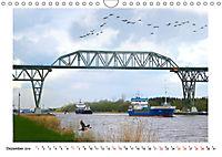 Zwischen Hochdonn & Brunsbüttel: Pötte gucken am Kanal (Wandkalender 2019 DIN A4 quer) - Produktdetailbild 12