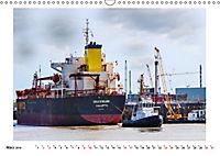 Zwischen Hochdonn & Brunsbüttel: Pötte gucken am Kanal (Wandkalender 2019 DIN A3 quer) - Produktdetailbild 3