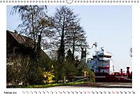 Zwischen Hochdonn & Brunsbüttel: Pötte gucken am Kanal (Wandkalender 2019 DIN A3 quer) - Produktdetailbild 2