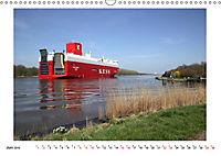 Zwischen Hochdonn & Brunsbüttel: Pötte gucken am Kanal (Wandkalender 2019 DIN A3 quer) - Produktdetailbild 6