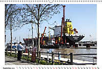 Zwischen Hochdonn & Brunsbüttel: Pötte gucken am Kanal (Wandkalender 2019 DIN A3 quer) - Produktdetailbild 9