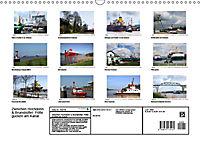 Zwischen Hochdonn & Brunsbüttel: Pötte gucken am Kanal (Wandkalender 2019 DIN A3 quer) - Produktdetailbild 13