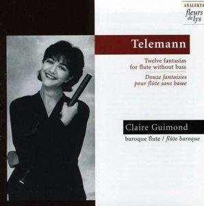 Zwölf Fantasien Für Flöte, Claire Guimond