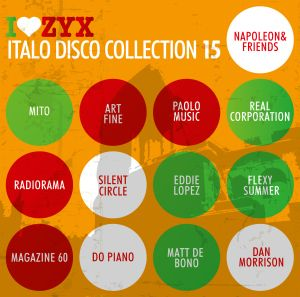 Zyx Italo Disco Collection 15, Diverse Interpreten